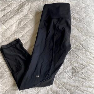 Lululemon Fast and Free Crop Pants